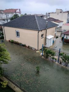 "Low ""Nefeli"" Floods Kavala, Sets Thousands Of Acres Of Agricultural Land Under Water"