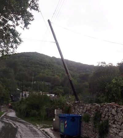 Mid-Summer Rainstorm Floods Towns In The Kavala Region